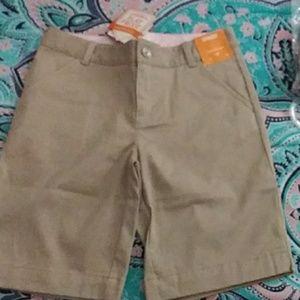 Uniform Gymboree Tan Shorts